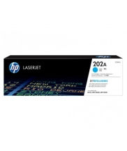 HP 202A Cyan Original LaserJet Toner Cartridge (For LJ M254, M280, 281)