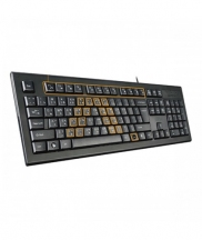 A4TECH KRS-85 Laser Engraving USB Keyboard With Bangla