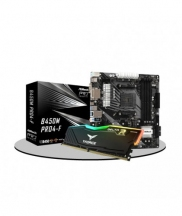 Asrock B450M Pro4-F AMD & Team Delta RGB 8GB 3200MHz RAM Eid Bundle Offer 2