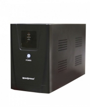 MAXGREEN 1250VA Offline UPS with LED Display (Metal Case)