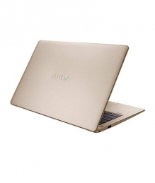 AVITA LIBER NS13A2 Core i7 8th Gen 13.3 inch Full HD Champagne Gold Color Laptop with Windows 10